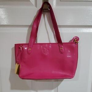 Gently used pink shoulder bag!